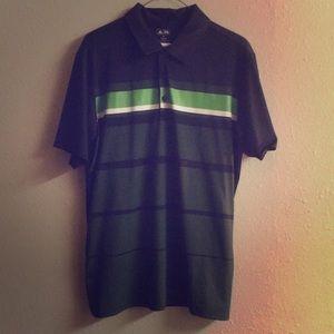 ✅ ADIDAS Golf Polo Tee T Shirt Athletic Adizero M